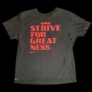 Nike Lebron James XL T Shirt